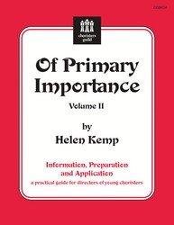 Kemp Of Primary Importance, Vol. 2