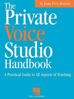 Private Voice Studio Handbook